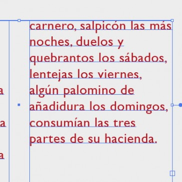 El Tracking y el kerning
