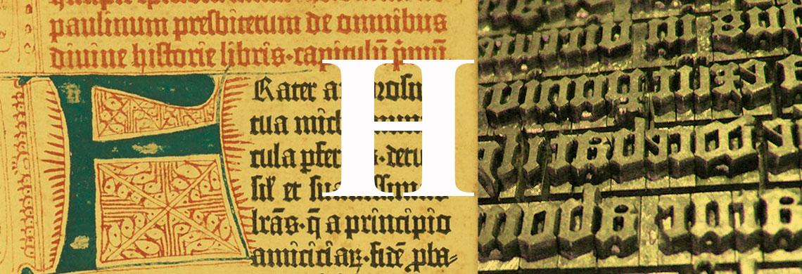 Historia de las letras – 4º