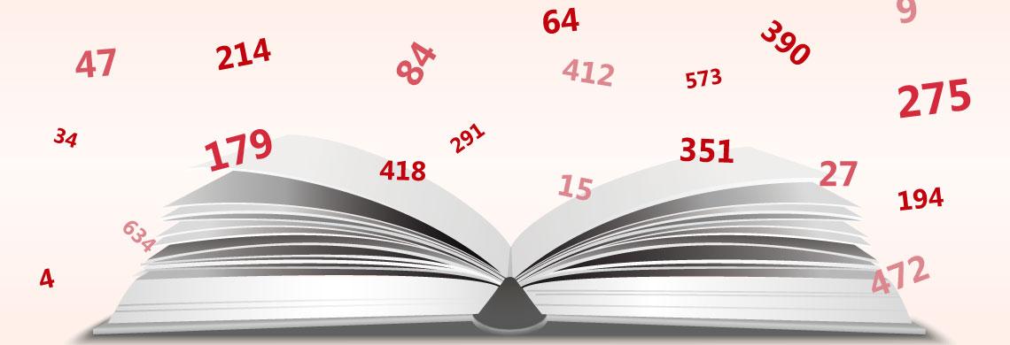 Paginación (numeración) de libros y revistas